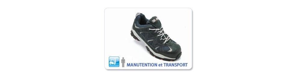 CHAUSSURE DE SÉCURITÉ MANUTENTION ET TRANSPORT