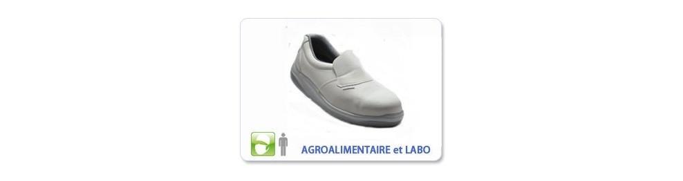 Chaussure de sécurité Agroalimentaire et Labo
