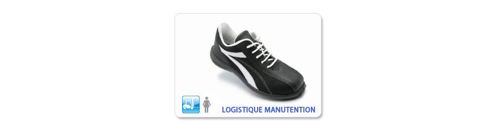 CHAUSSURE SECURITE LOGISTIQUE MANUTENTION FEMME
