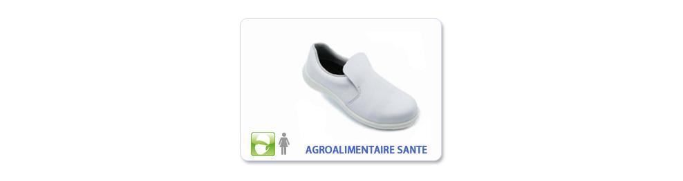 Chaussure de sécurité Agroalimentaire Santé