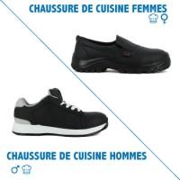 CHAUSSURE DE SECURITE CUISINE HOMME ET FEMME