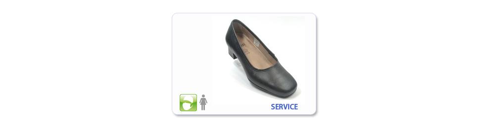 Chaussure de service restauration