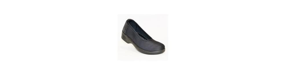 Chaussure de confort pieds sensibles femme
