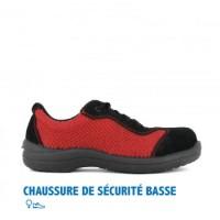 CHAUSSURE DE SÉCURITÉ FEMME BASSE