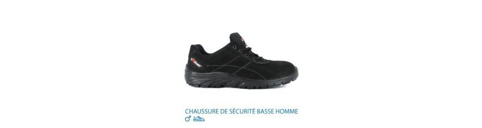 CHAUSSURE DE SÉCURITÉ HOMME BASSE