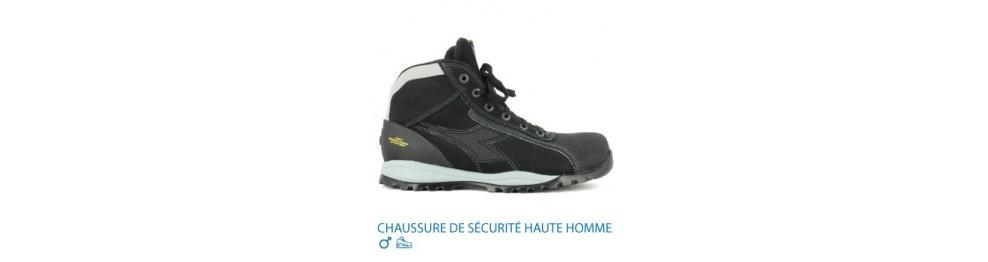 CHAUSSURE DE SÉCURITÉ HAUTE HOMME