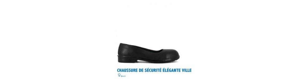 CHAUSSURE DE SÉCURITÉ ÉLÉGANTE VILLE FEMME